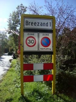 ingang Breezand anno 2012